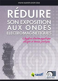 Couverture livret Réduire son exposition aux ondes électromagnétiques